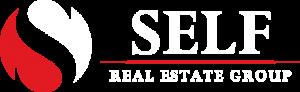 Self Real Estate Logo White